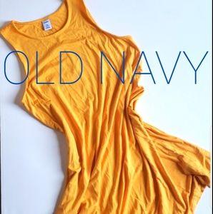 Old Navy Sleeveless Dress XS Petite Golden